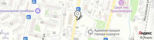 Уют на карте Кисловодска