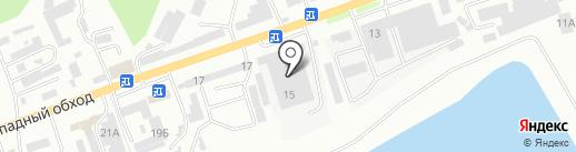 Эко-город на карте Кисловодска
