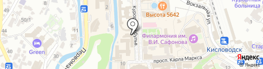 Мимино на карте Кисловодска