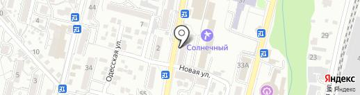Лайт на карте Кисловодска