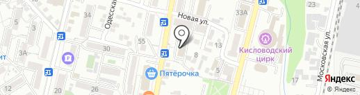СКИС-ПАЛ на карте Кисловодска