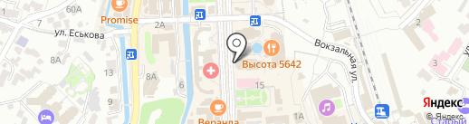 Высота 5642 на карте Кисловодска