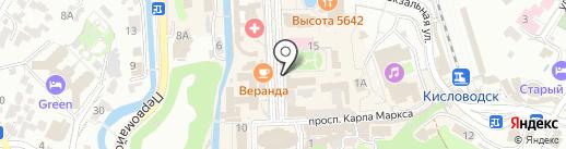 ТрактирЪ на карте Кисловодска