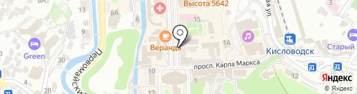 Магазин-ателье на карте Кисловодска