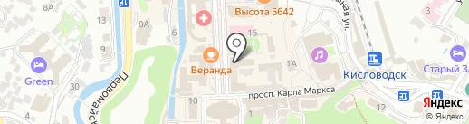 Беларусь на карте Кисловодска