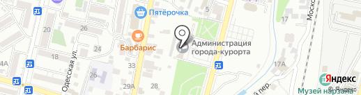 Финансовое управление на карте Кисловодска