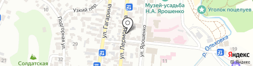 Краевой центр лечебной физкультуры и спортивной медицины на карте Кисловодска