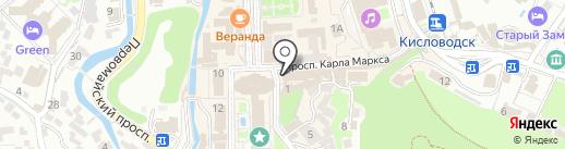 Билайн на карте Кисловодска