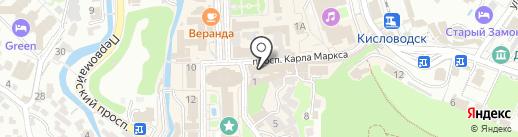 Связной на карте Кисловодска