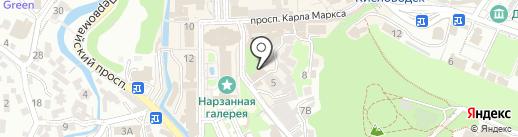 Лавка чудес на карте Кисловодска