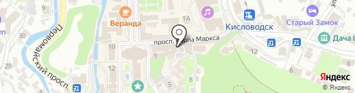 7я на карте Кисловодска