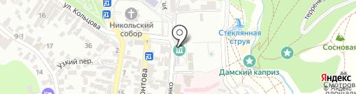 Мемориальный музей-усадьба художника Н.А. Ярошенко на карте Кисловодска