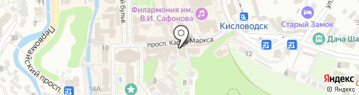 Sport Trend на карте Кисловодска