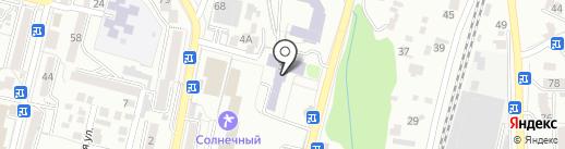 Детская музыкальная школа им. С.В. Рахманинова на карте Кисловодска