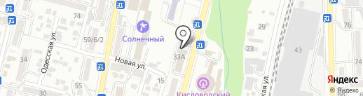 Аэрофлот, ПАО на карте Кисловодска