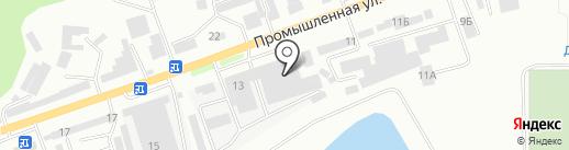 Батяня на карте Кисловодска