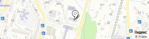 ЮМИС на карте Кисловодска
