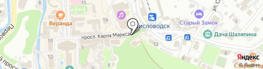 Магазин на карте Кисловодска
