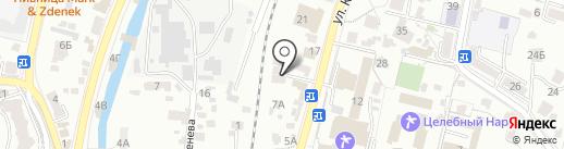 Отдел надзорной деятельности по г. Кисловодску на карте Кисловодска