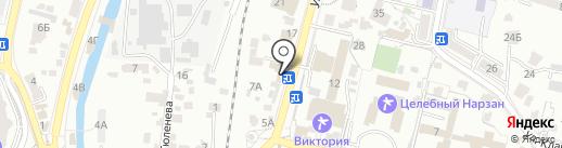 Автомагазин №1 на карте Кисловодска