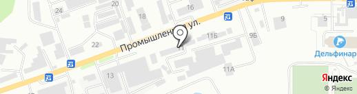 ТМ на карте Кисловодска