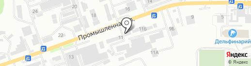 Idea на карте Кисловодска