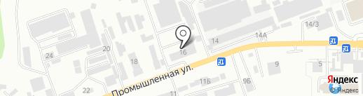СДМ-запчасть на карте Кисловодска
