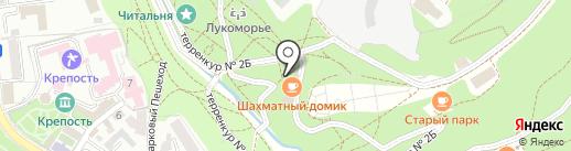 Спорт-бар на карте Кисловодска