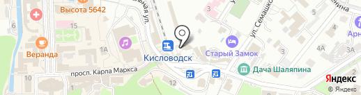 Линейный отдел полиции на карте Кисловодска