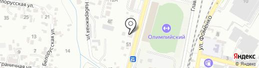 Formula 1 на карте Кисловодска