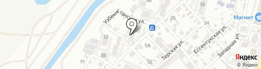 36.6 на карте Кисловодска