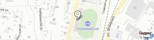 Кисловодское государственное училище олимпийского резерва на карте Кисловодска