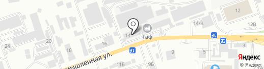 Импульс на карте Кисловодска