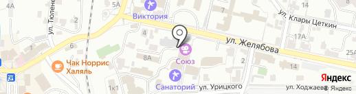Halmer на карте Кисловодска