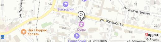 Дом культуры курорта на карте Кисловодска