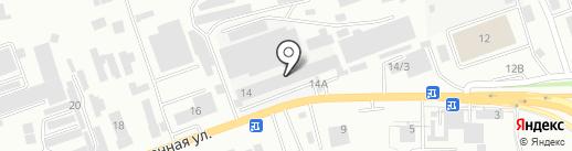 Бештау на карте Кисловодска