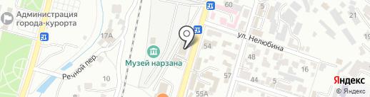 Отделение Управления Федерального казначейства по Ставропольскому краю на карте Кисловодска