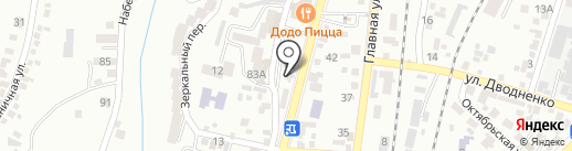 Райский уголок на карте Кисловодска