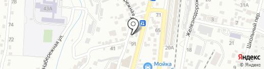 Первое домоуправление на карте Кисловодска