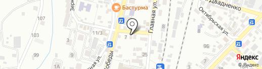 ГосСтандарт на карте Кисловодска