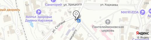 Веселый повар на карте Кисловодска