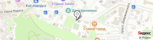 Фея на карте Кисловодска