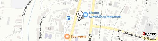 Студия художественной фотографии Юрия Миронова на карте Кисловодска