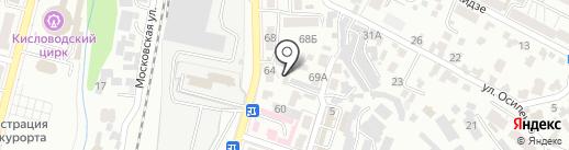 Домоуправление №2 на карте Кисловодска