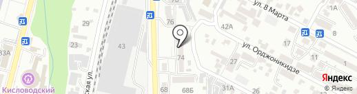 Angel на карте Кисловодска