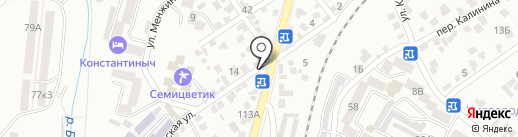У Жоры на карте Кисловодска