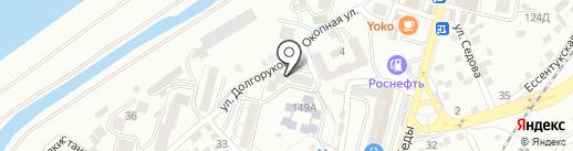 Компания алмазного бурения на карте Кисловодска