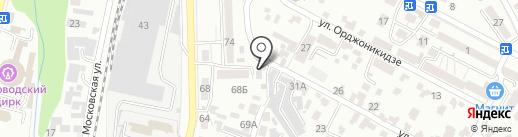 Сантехника на карте Кисловодска