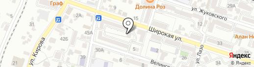 Вайнах на карте Кисловодска