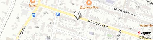 МСД на карте Кисловодска